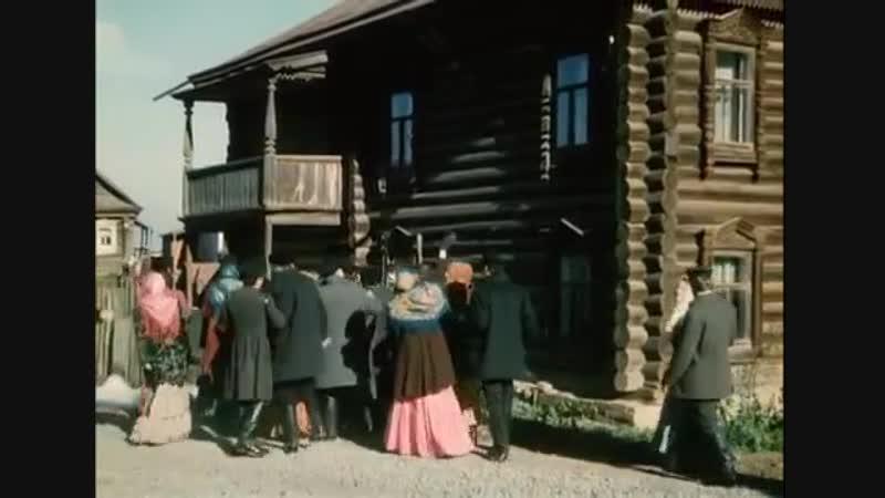 Кадры из фильма Глеба Панфилова по роману М.Горького Мать с моим участием.