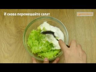 Кабачковый салат - настолько вкусный что в нашей семье готовится каждую неделю!