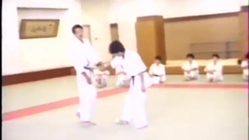 Семинар по Томики айкидо Сенсей Фумиаки Шишида Университет Васеда Япония