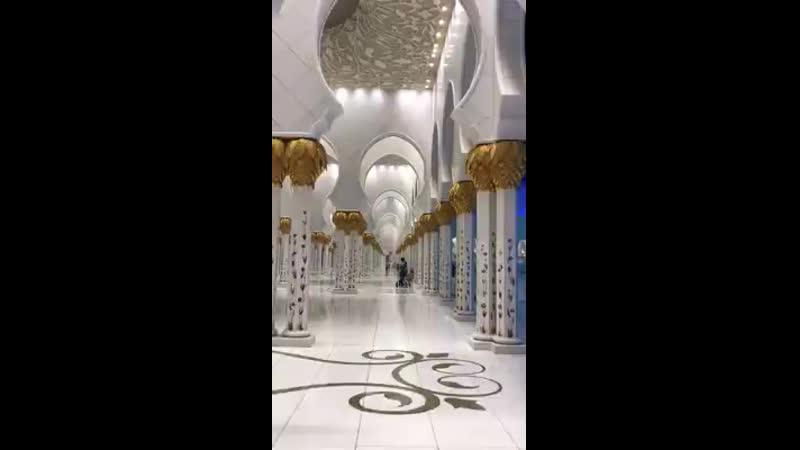 Мечеть шейха Зайда в Абу-Даби.mp4