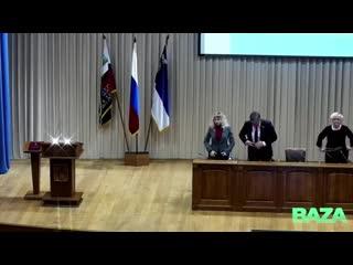 Мэр Белгорода дал присягу под музыку из «Звездных войн»