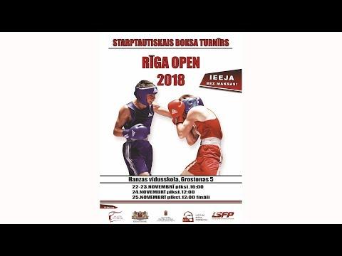"""Tradicionālais 69 - Starptautiskais Boksa Turnīrs """"Rīga Open 25. novembrī"""