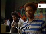 Hip Hop Party in a Sports Hall, 1980s New York