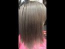 Сложное окрашивание растяжка цвета обёртывание волос