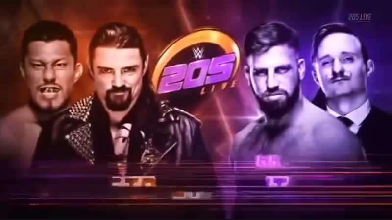 [Wrestling Ukraine]Highlights]WWE 205 Live 19 December 2018 HD]Огляд Українською]