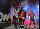 Hollywood Hogan Kevin Nash Scott Steiner nWo Wolfpac Elite entrance Nitro 25th Jan 1999