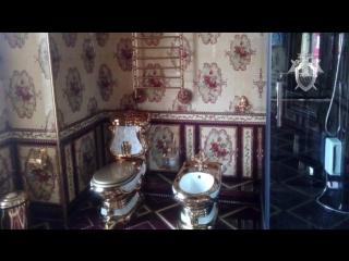 Унитаз и биде из золота: СК России опубликовал кадры из особняка владельца сети подпольных казино в Якутске