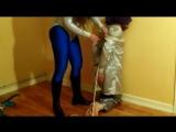 spandex femdom hogtie - Pornhub.com.mp4