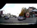 Авария на перекрестке ул Я Гарелина и пр Ленина