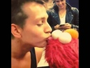 The Vamps James with Elmo