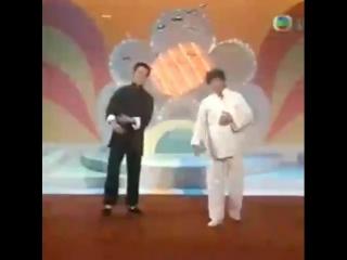 Две легенды на ТВ | Джет Ли и Цзя-Хуэй Лю | 1986