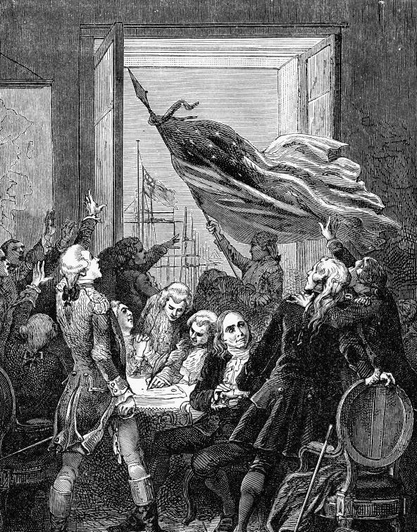 Подписание Декларации независимости дало гражданам право на «жизнь, свободу и стремление к счастью».