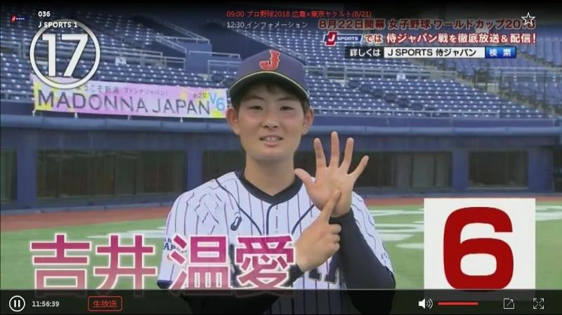 プロ野球2018 広島×東京ヤクルト(821)