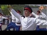 Студенты ЛНАУ провели концерт на линии соприкосновения у Станицы Луганской
