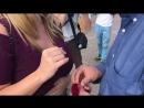 Flashmob предложение руки и сердца . Сергей . Медный всадник . Спб