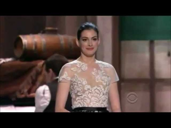 Anne Hathaway sings She's Me Pal to Meryl Streep