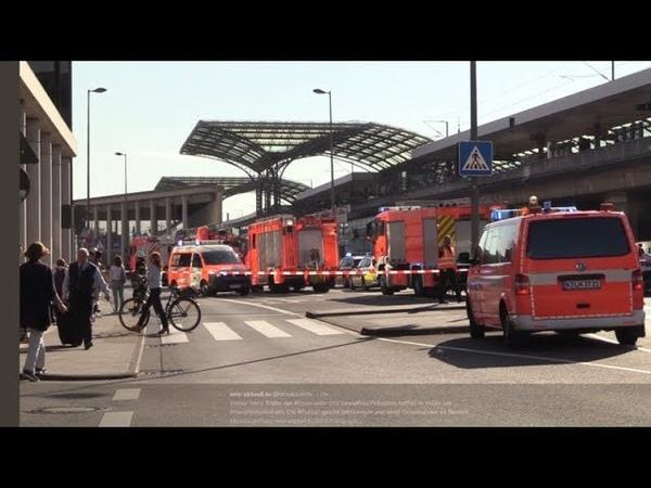 LIVE aus Köln nach Geiselnahme am Kölner Hauptbahnhof