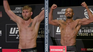 UFC 232 Weigh-Ins: Jon Jones, Alexander Gustafsson Make Weight - MMA Fighting