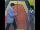 Два короля бокса и поп- музыки Мухаммед Али и молодой Майкл Джексон боксируют на передаче