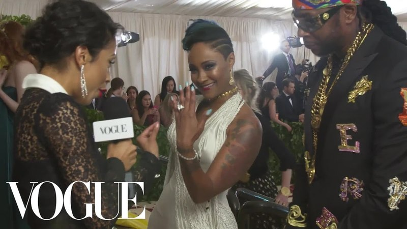2 Chainz on Proposing to His Girlfriend at the Met Gala Met Gala 2018 With Liza Koshy Vogue