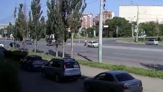 ДТП на перекрестке ул. Масленникова, ул. Куйбышева (16.07.2018)