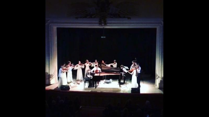 Бах.Концерт для фортепиано с оркестром ре-минор