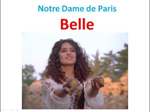 Belle. Песня из мюзикла «Нотр-Дам де Пари»