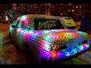 Авто украшение автомобиля на Новый год Автотюнинг Брянск