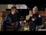 Леди Гага и Брэдли Купер для Entertainment Weekly