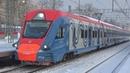 Электропоезд ЭГ2ТВ-001 Иволга-ЦППК сообщением Москва Белорусская - Усово