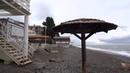 Вот уже и середина зимы! На море шторм, дождичек, но тепло и тихо. Лазаревское 16 января 2019