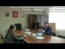 Встреча с министром транспорта и дорожного хозяйства СО В В Старковым по ситуации с капитальным ремонтом дороги пр Ленина