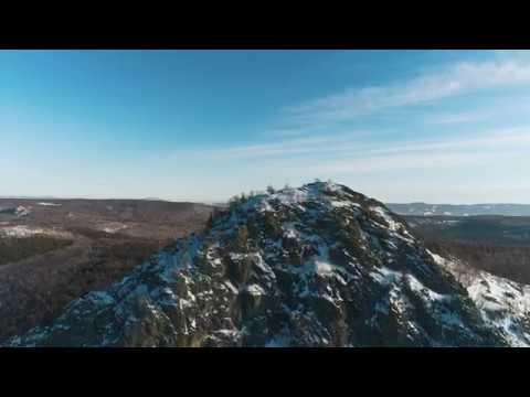 Гора Арвякрязь с высоты птичьего полета Наш Урал