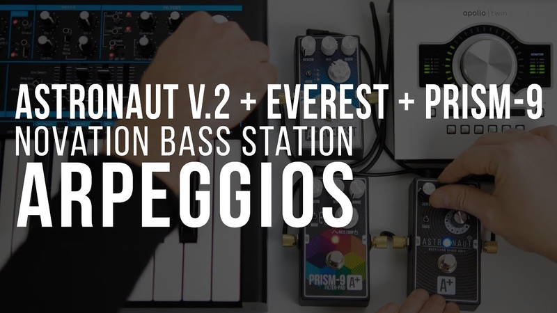 Arpeggios | Astronaut V.2 Everest Prism-9 Novation Bass Station