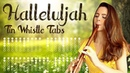 Learn To Play HALLELUJAH Tin Whistle Tabs For Beginners