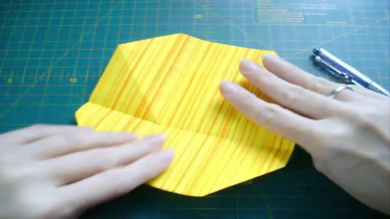 Как Сделать Поделки Своими Руками Из Бумаги К Пасхе. Коробочка Тюльпан Подставка