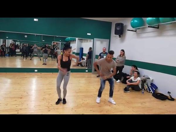 Rafael Hernandez y Nathalie Mila, timba en pareja