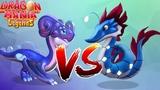 Seahorse Dragon VS Stardust Dragon ENCHANT DRAGON BATTLE Dragon Mania Legends part 1254 HD