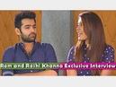 Ram Pothineni and Rashi Khanna Exclusive Interview Shivam Movie Team NTV