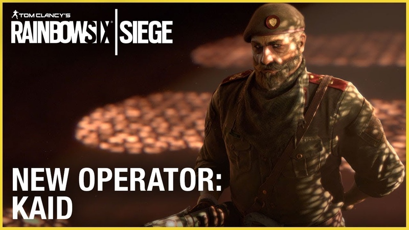 Rainbow Six Siege: Operation Wind Bastion - Kaid | Ubisoft