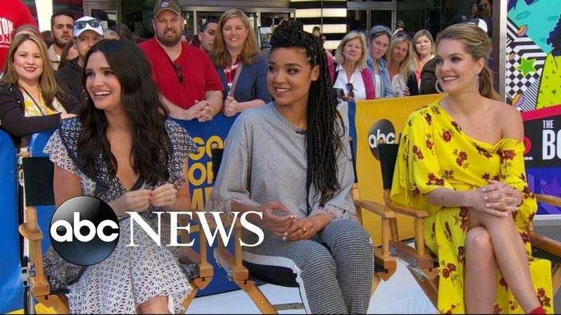 Katie Stevens Meghann Fahy and Aisha Dee dish on 'The Bold Type'