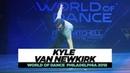 Kyle Van Newkirk | FRONTROW | World of Dance Philadelphia 2018 | WODPHILLY18