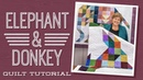 Make an Elephant and a Donkey Quilt with Jenny Doan of Missouri Star (Instructional Video)