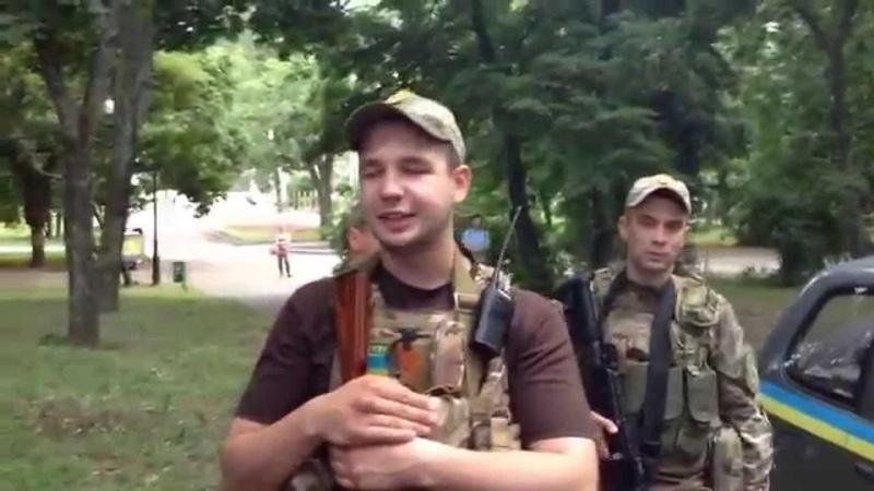 Приключения пьяных правосеков в Харькове.20.06.2014 (1)