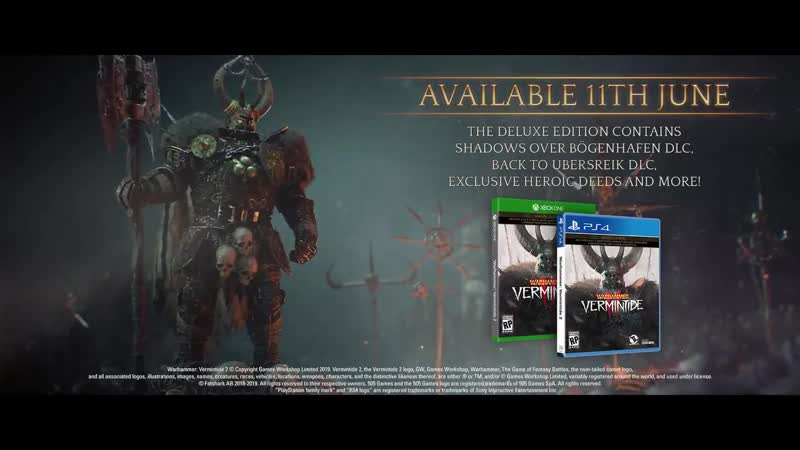 Warhammer: Vermintide 2 physical edition launches June 11
