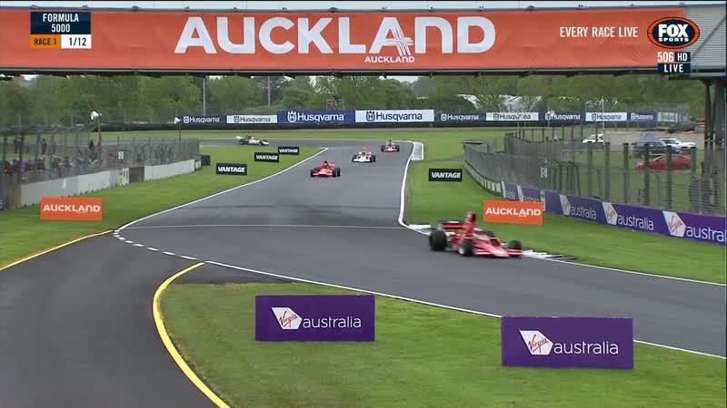 NZ Formula 5000 201819. Этап 1 - Окленд. Первая гонка