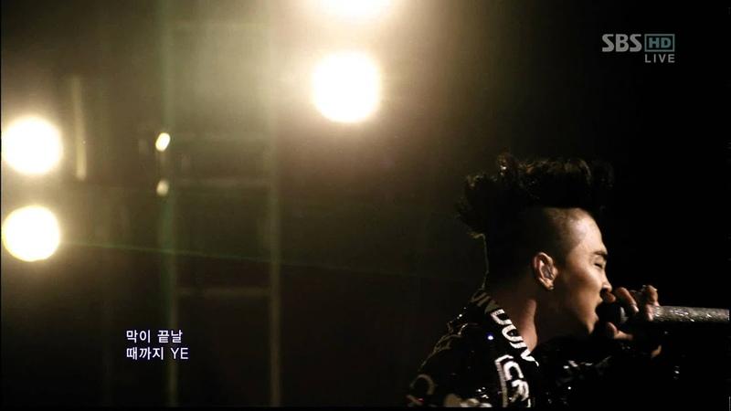 BIGBANG_0325_SBS Inkigayo_FANTASTIC BABY_1st Award