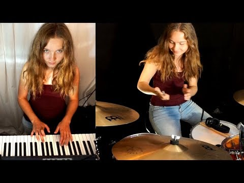 Beat It (Michael Jackson) drum cover by Sina