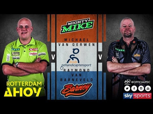 2018 Premier League of Darts Week 12 van Gerwen vs van Barneveld