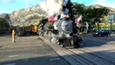 Magic Babe Travel. Walking Extreme train ride enigma remix